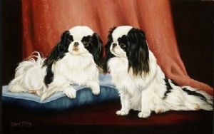 Limited Edition Japanese Chin Print RMLE8